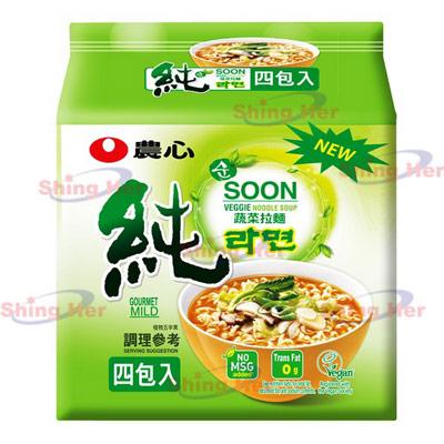 農心蔬菜拉麵(4入-448g/袋)
