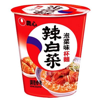 農心韓國泡菜杯麵(75g/杯)