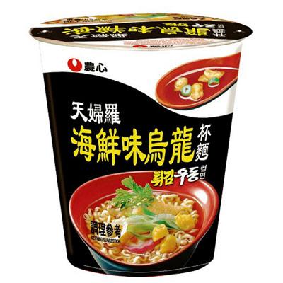 農心農心天婦羅海鮮味烏龍杯麵(62g/杯)