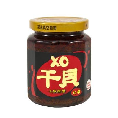 澎富XO干貝小魚辣醬(265g/瓶)