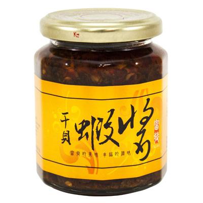 干貝蝦醬(265g/瓶)