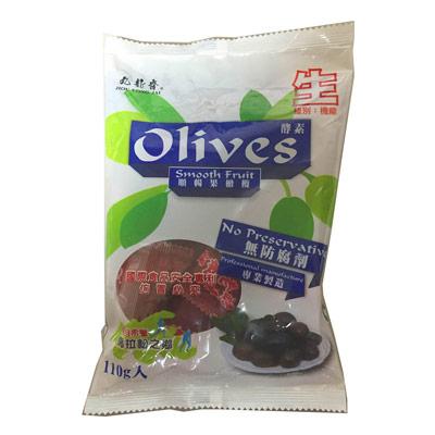 九龍齋酵素順暢果橄欖(110g/包)