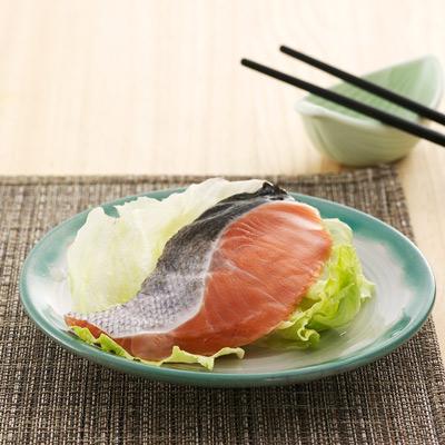 天和鮮物秋鮭魚片-半月切(70g/包)
