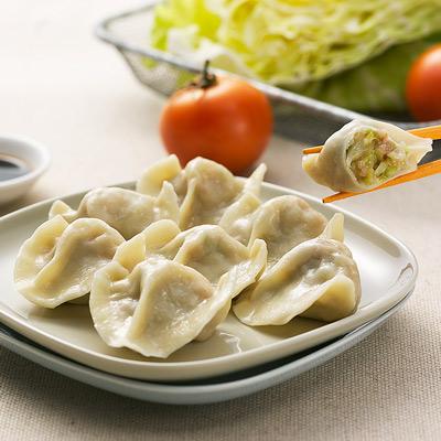 手工水餃(高麗菜)(20粒-460g/包)
