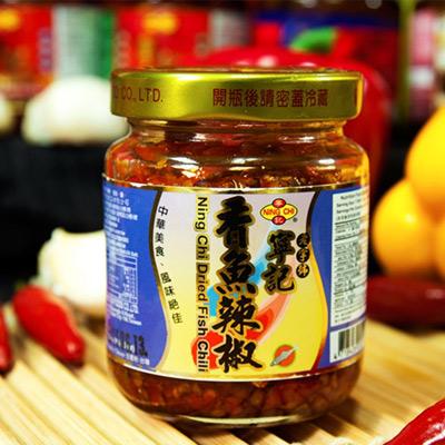 寧記香魚辣椒(120g/瓶)