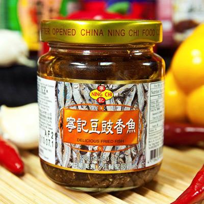 寧記豆豉香魚(120g/瓶)