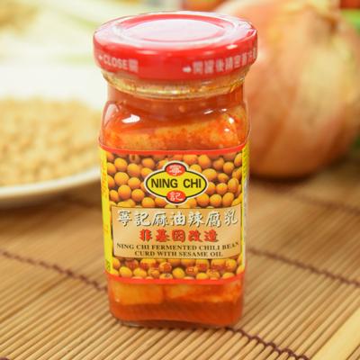 寧記麻油辣腐乳(可素食)(140g/瓶)