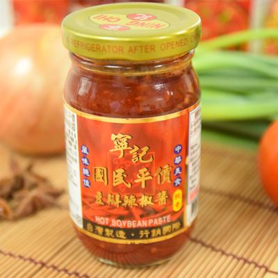 寧記國民平價豆瓣辣椒醬(220g/瓶)
