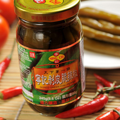 寧記剝皮辣椒(245g/瓶)
