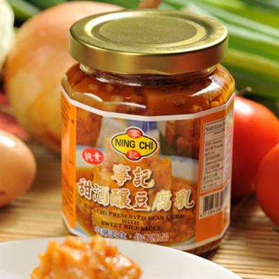 寧記甜酒釀豆腐乳(可素食)(280g/瓶)