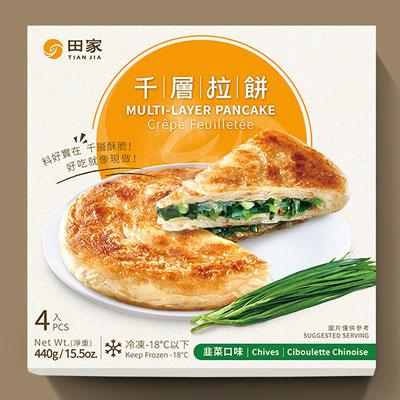 千層韭菜拉餅(120*4入/盒)