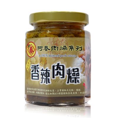 阿春肉燥香辣肉燥(滷肉汁)(180g/罐)