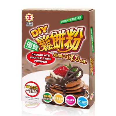鬆餅粉-經典巧克力口味(300g/盒)