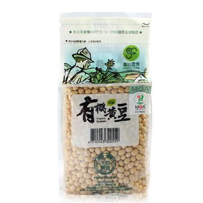 有機黃豆(500g/包)