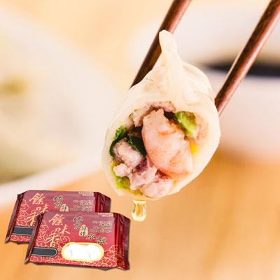 餘味香北方鮮作水餃高麗菜蝦仁豬肉水餃(12顆-420g/包)