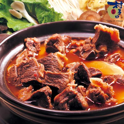 原汁紅燒羊肉爐(1200g/包)