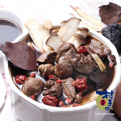 傳家香藥膳燉雞(1200g/包)