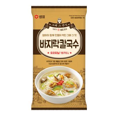 韓國膳府蛤蜊風味刀削麵(111g/袋)