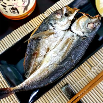 鮮之流南方澳竹筴魚一夜干(180g±20/尾)