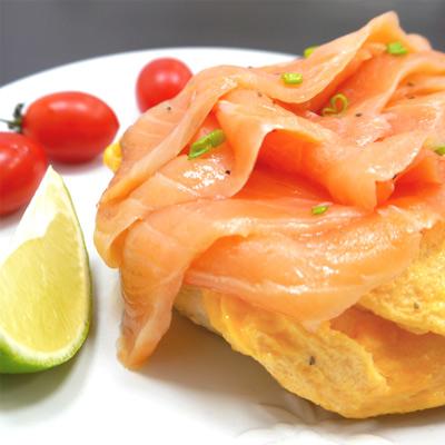 鮮之流頂級冷燻鮭魚(100g±5g/包)