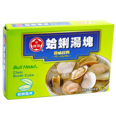 牛頭牌牛頭牌湯塊(蛤蜊)(66g/盒)
