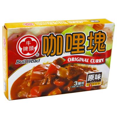 牛頭牌牛頭牌(原味)咖哩塊(66g/盒)