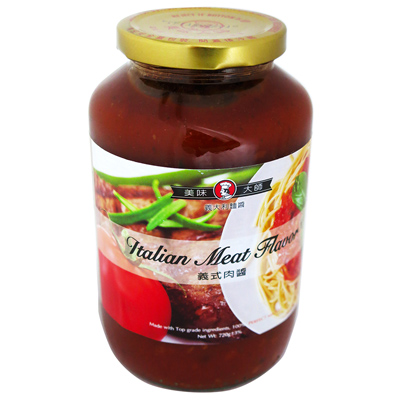 美味大師義大利麵醬(義式肉醬)(720g/罐)