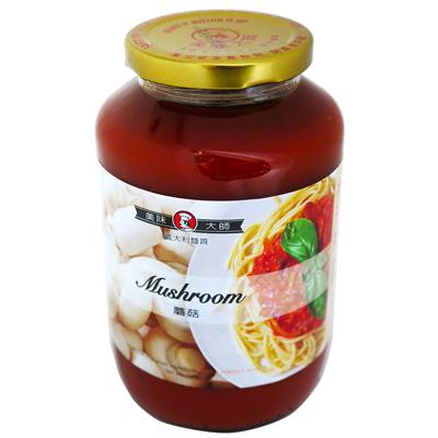 美味大師義大利麵醬(磨菇)(720g/罐)