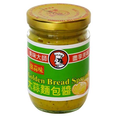 美味大師大蒜麵包醬(強蒜味)(220g/罐)