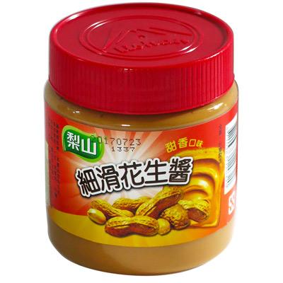 梨山牌細滑花生醬(340g/罐)