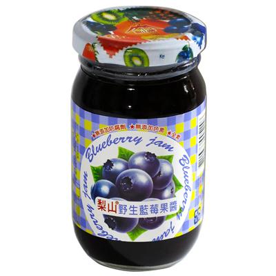 梨山牌梨山牌野生藍莓果醬(小圓玻)(260g/罐)