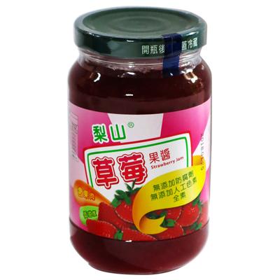 梨山牌草莓果醬(大圓玻)(430g/罐)