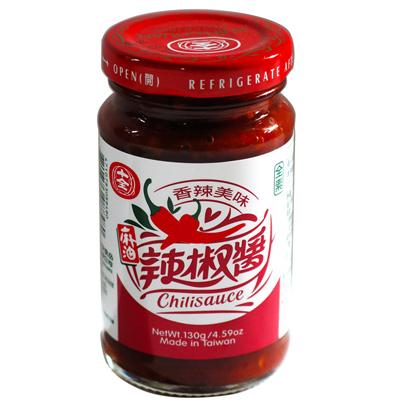 十全十全麻油辣椒醬(130g/罐)