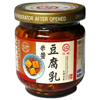 江記江記米醬豆腐乳(小)(185g/罐)