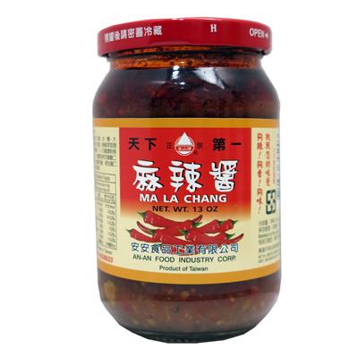 安安安安麻辣醬(380g/罐)