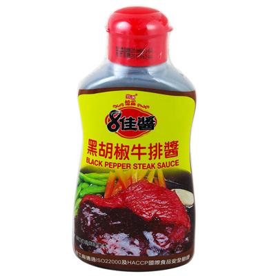 憶霖8佳醬(黑椒牛排醬)(400g/罐)