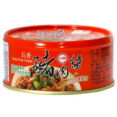 台糖台糖安心豚豬肉醬(五香)(160g/罐)