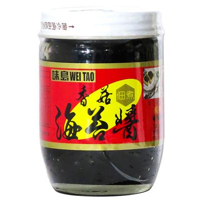 味島海苔醬(香菇)(190g/罐)