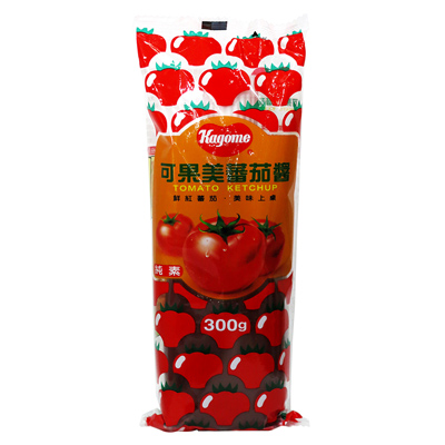 可果美可果美蕃茄醬(小軟瓶)(300g/瓶)