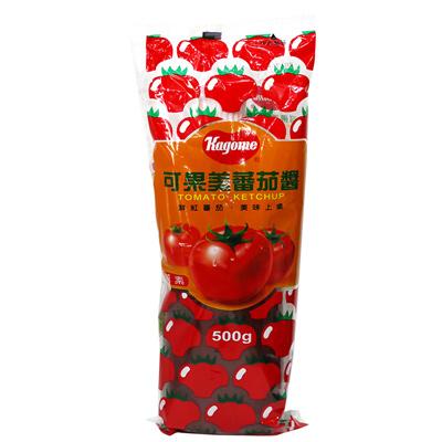 可果美蕃茄醬(大軟瓶)(500g/瓶)
