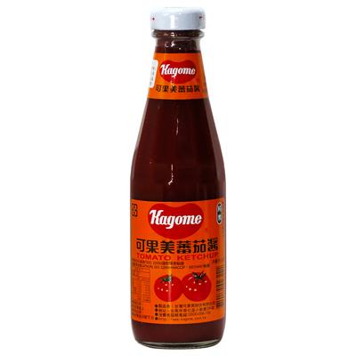 可果美可果美蕃茄醬(小玻璃)(340g/罐)