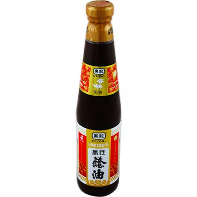 黑龍黑龍夏荷級黑豆蔭油(膏油)(400ml/罐)