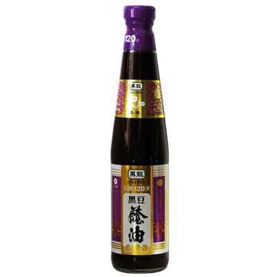 黑龍黑龍冬梅級黑豆蔭油(膏油)(400ml/罐)