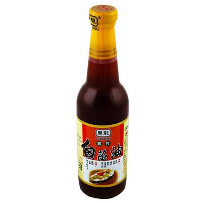 黑龍黑龍白蔭油(清油)(500ml/罐)