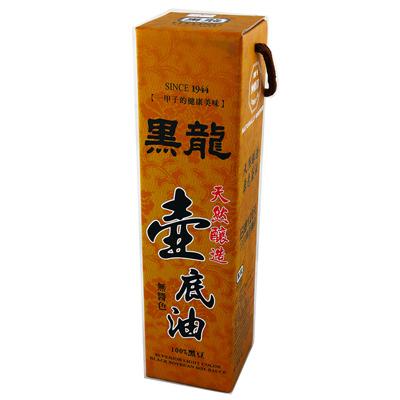 黑龍黑龍天然壺底油(600ml/罐)
