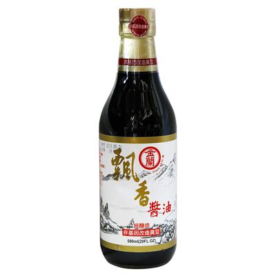 金蘭飄香醬油(非基因改造)(590ml/罐)