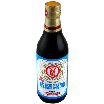 金蘭淡色醬油(非基因改造)(590ml/罐)