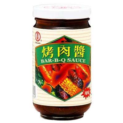 金蘭金蘭烤肉醬膏狀(非基因改造)(240g/罐)
