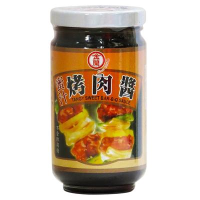 金蘭金蘭蜜汁烤肉醬(240g/罐)