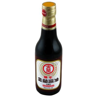 金蘭陳年醬油(非基因改造)(500ml/罐)